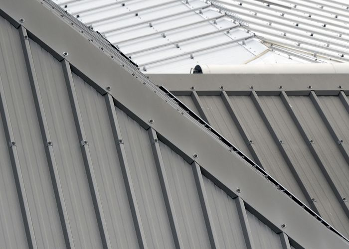 Facing Problem With Sheet Metal Roofing Contact Experts At Yonkers General Roofing Contractors View The Metal Roof Cost Roof Installation Metal Roof Coating