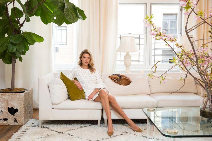 @laurenremingtonplatt wearing our #ImpalaDress for the @coveteur article#Savanna #PepaPombo