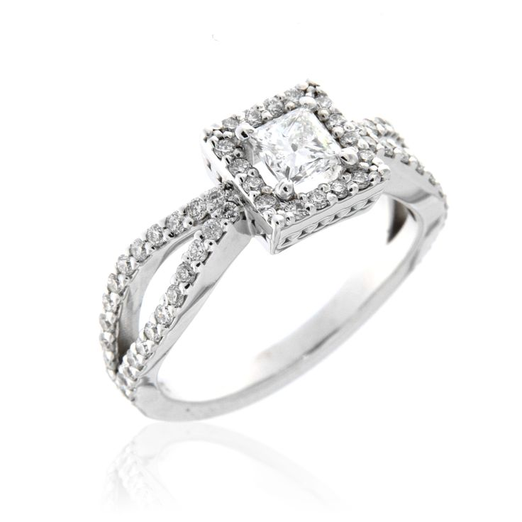 Designer Diamond Engagement Ring – 3300006