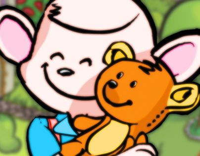 """Check out new work on my @Behance portfolio: """"Hip hip hurray we found Teddy"""" http://on.be.net/1NhMWeS"""