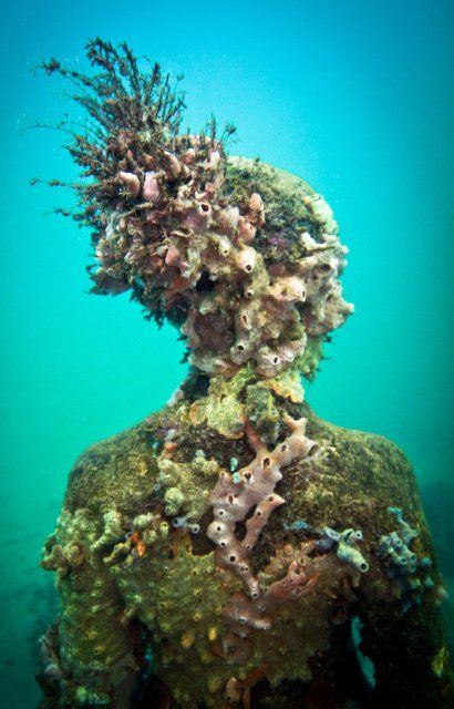 Overview - Underwater Sculpture by Jason deCaires Taylor