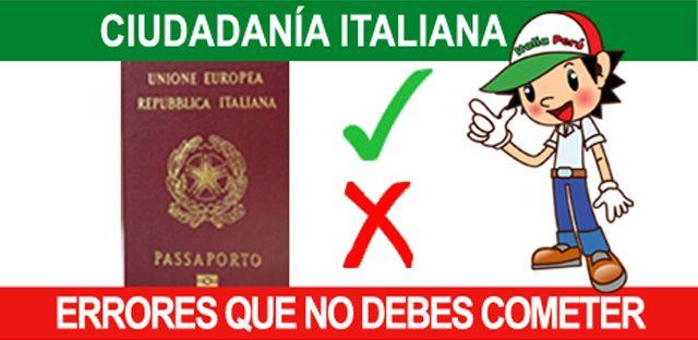 Seguramente debes haber escuchado a algunos italo-descendientes lamentarse porque su solicitud de ciudadanía no prosperó, o porque en el Consulado...