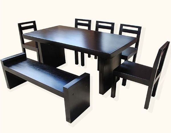 Best 10+ Dining Set With Bench Ideas On Pinterest | Wood Tables .