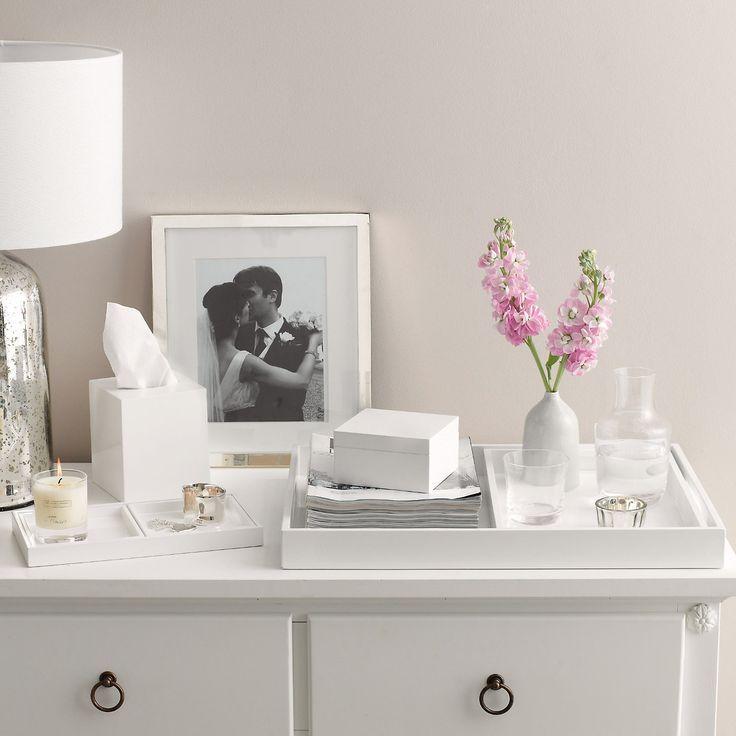 Buy Home Accessories Part - 21: Buy Home Accessories U003e Kitchen Accessories U003e Nesting Laquer Trays From The  White Company