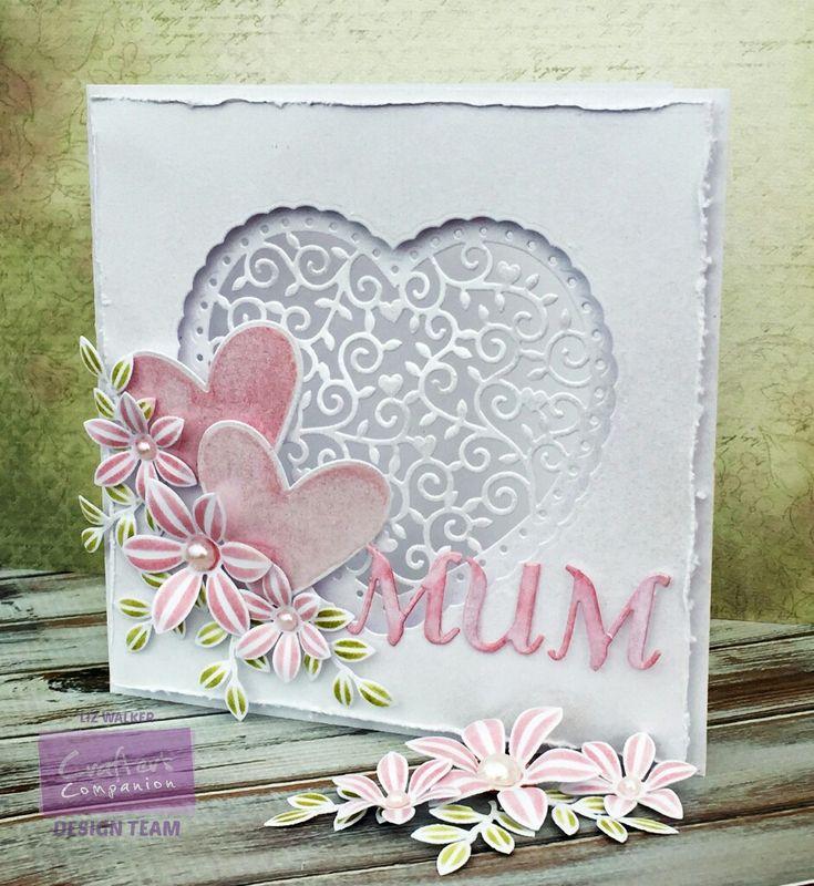 Ручные открытки ко дню матери