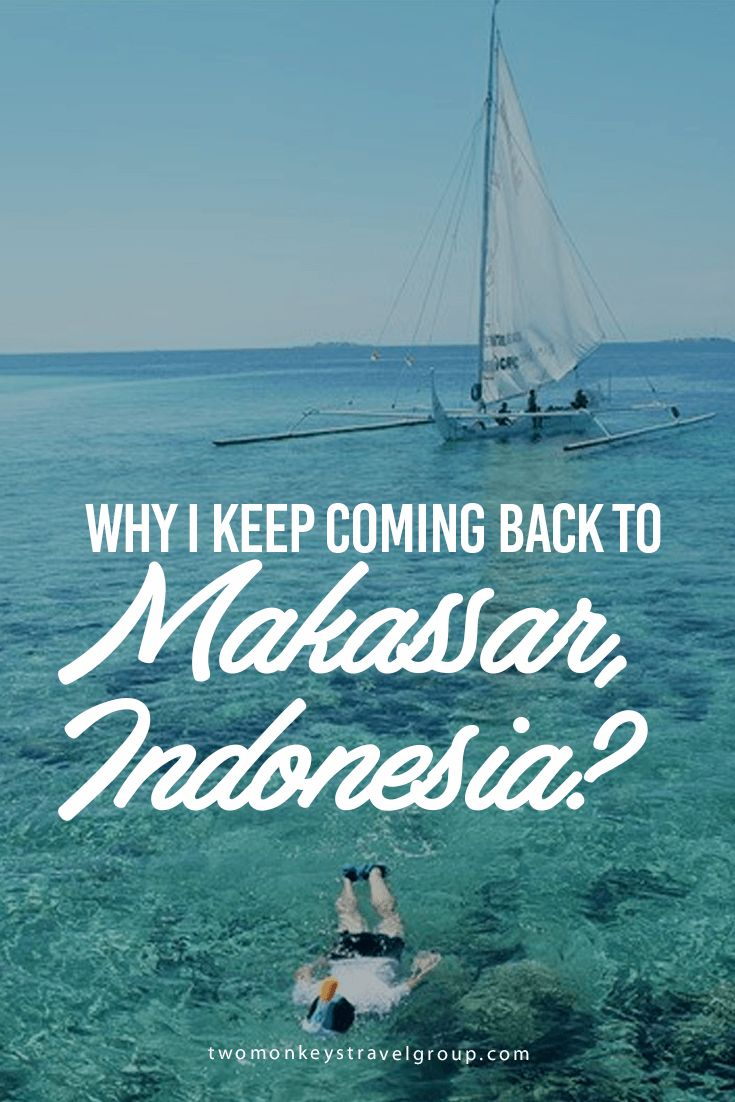 Why I Keep Coming Back to Makassar, Indonesia? There is a strong string pulling my feet back to South Sulawesi, Indonesia's capital. Seeing it twice seems not enough and making me wonder why I keep coming back to Makassar. My third visit last July, spending three days in this city, has strengthened that string and finally let me realized why I need to keep on visiting Makassar.