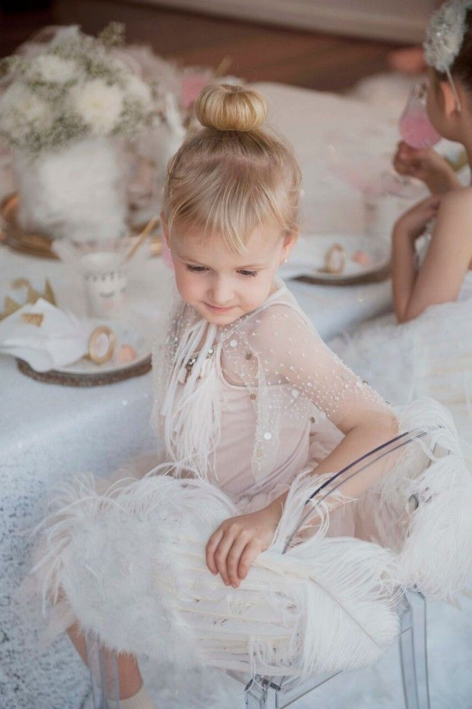 This Swan Lake party is filled with gorgeous ideas for ballet themed food and decorations.