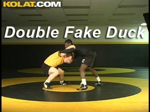 Double Fake Duck Under KOLAT.COM Wrestling Techniques Moves Instruction
