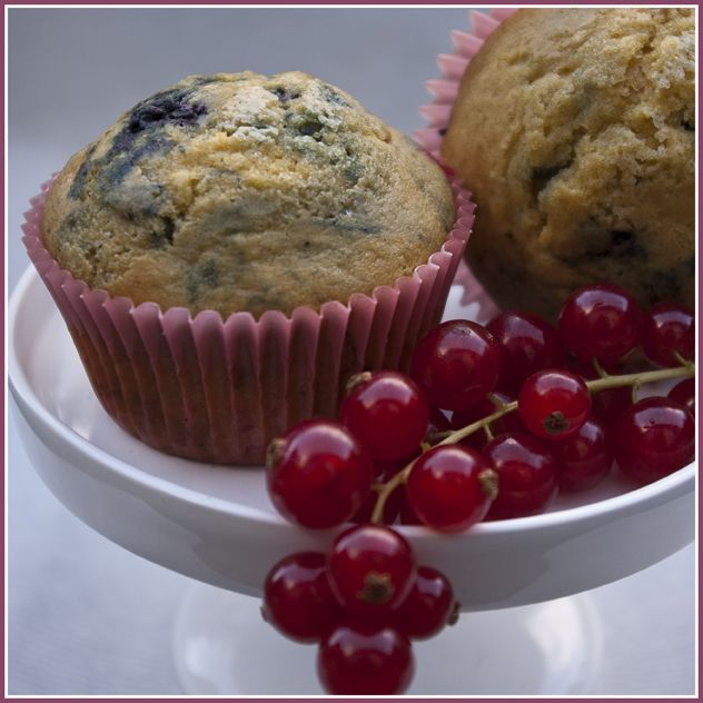 DONNA CARAMELLA: Bosvruchtenmuffins (Hummingbird Bakery)