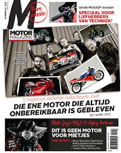 3x Motor Magazine € 15,-: Motor Magazine is het tweewekelijkse motormagazine voor alle motorrijders. Nu een automatisch aflopend proefabonnement voor slechts 15 euro!