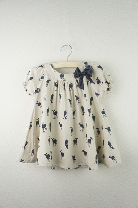 Fawn Dress ~This says dress but I'd rather see it as a top with black leggings and flats.~J