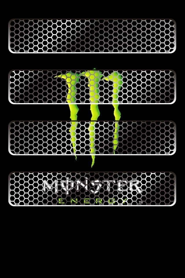 Monster Energy Shelf IPhone Wallpaper