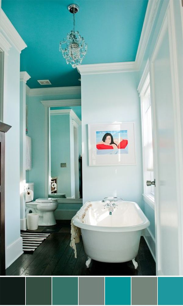 Contemporary Art Sites  World s Best Bathroom Color Schemes For Your Home
