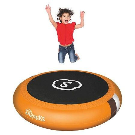 Two products in one! As a trampoline, the sturdy construction features a jumping area measuring 50 inches (127 cm) in diameter. To use it as a pool, simply flip it over! The pool is spacious enough to