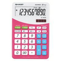 Sharp Desktop Calculator With Tax Conversion Function Pink ELM-332BPk