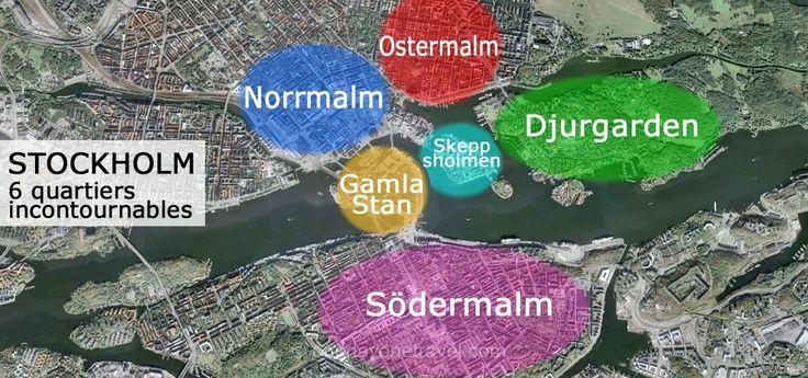 carte stockholm 6 quartiers incontournables