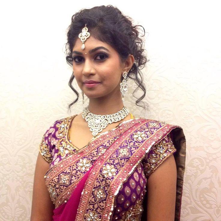 south indian bride   bridal saree makeup jewellery   My ...