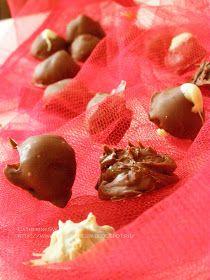 Laboratory of taste: Конфеты с начинкой из белого шоколада и кофе