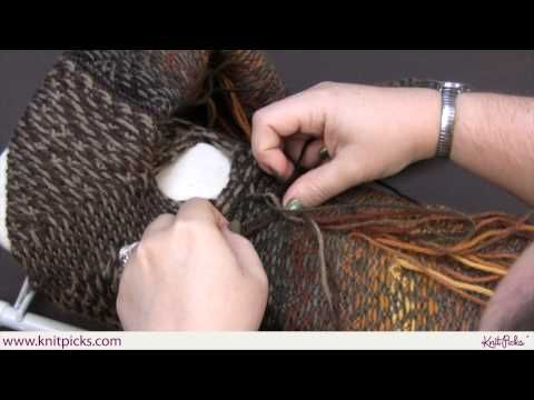 Is Crocheting Quicker Than Knitting :  Knit Picks Tutorials braiding the ends, a quicker method than ...