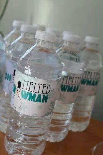 Christmas party water. Would be funny with Lemonade.