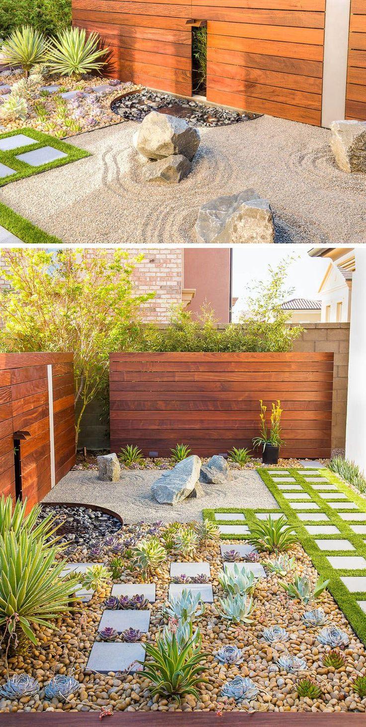 Best 25 Rock Yard Ideas On Pinterest Decorative Rock Landscaping Garden Ideas With Stones