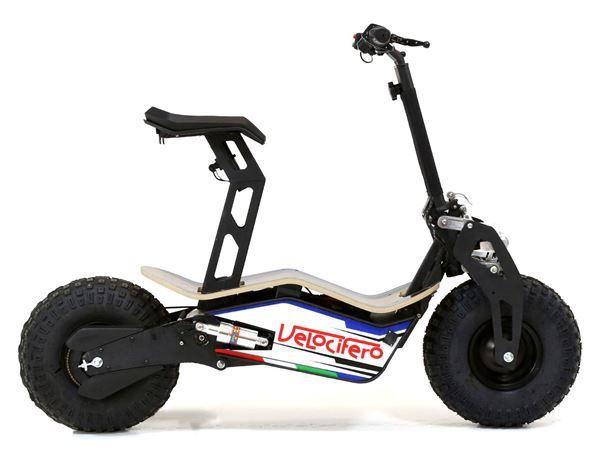 Velocifero MAD 48 Volt 1600W Blue Electric Scooter