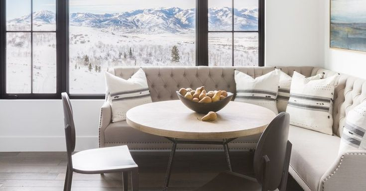 House Tour: A Park City Weekend Retreat Where Modern And Mountain Chic Mingle