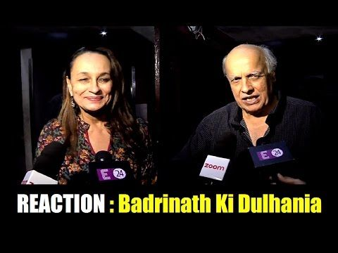 Checkout What Alia Bhatt's mom dad said after watching Badrinath Ki Dulhania.    Click here to see the video > https://youtu.be/_MKqBh9-i6M    #aliabhatt #badrinathkidulhania #bollywood #bollywoodnews #bollywoodnewsvilla