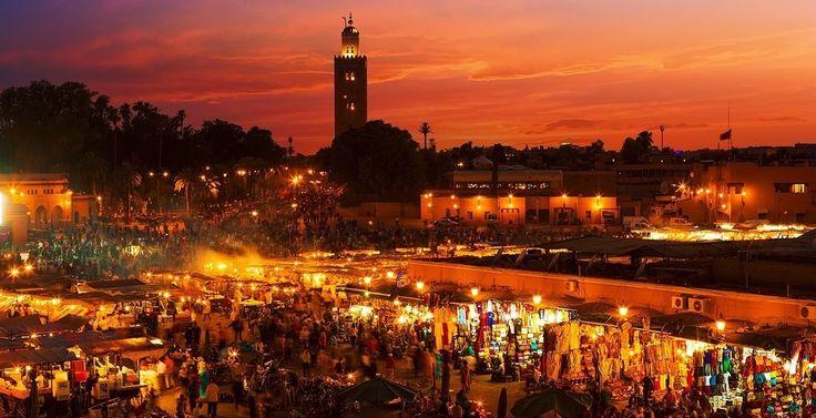 Marokko – Vandring, kamelsafari og Marrakech
