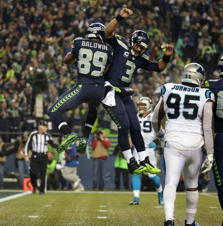 Explosive plays from Doug Baldwin, Jermaine Kearse, Luke Willson spur Seahawks victory over Panthers