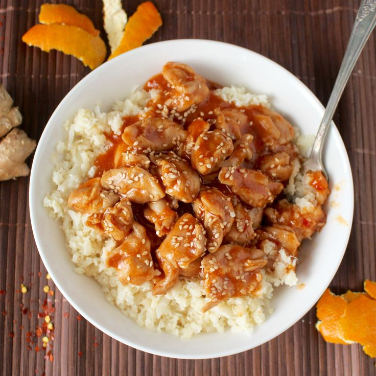 This Paleo Orange Chicken has so much flavor and is made in under 30 minutes! The perfect weeknight meal!