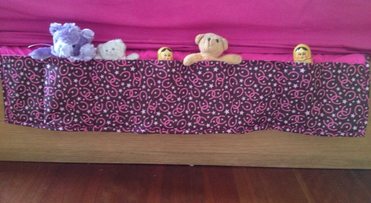 Under the Bed Toy Caddy - Pocket Organiser ON SALE by QuiltAroundTheClock on Etsy https://www.etsy.com/au/listing/177082250/under-the-bed-toy-caddy-pocket-organiser