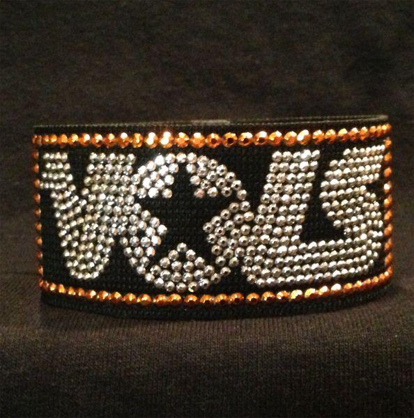 VOLS  UT  University of Tennessee Wristband / Bracelet