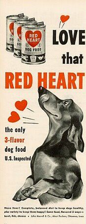 Please Support our advertisers:  red heart dog food