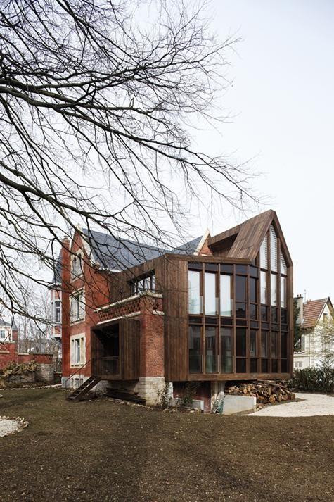Plus de 1000 id es propos de contemporain et ancien sur for Association renovation maison
