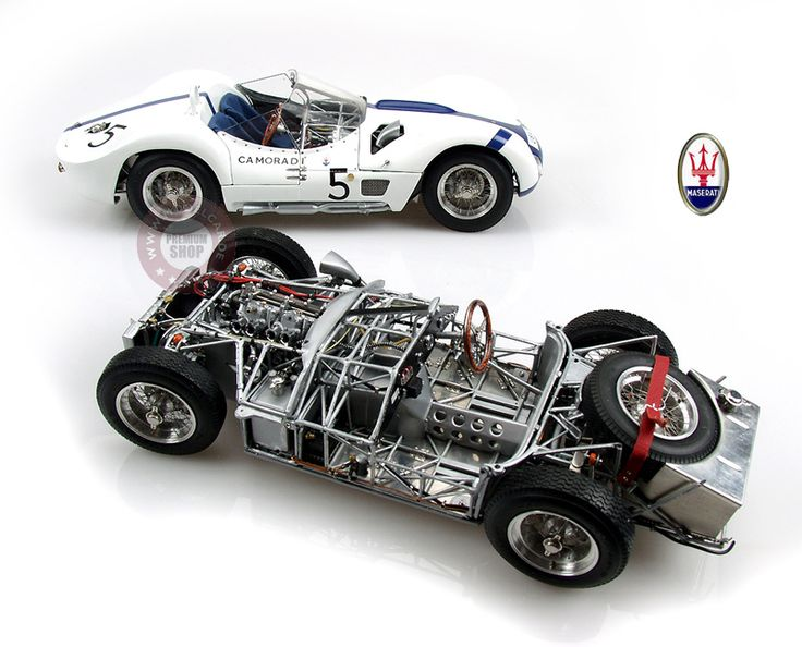 CMC MASERATI Birdcage - brilliant model of an exceptional race car