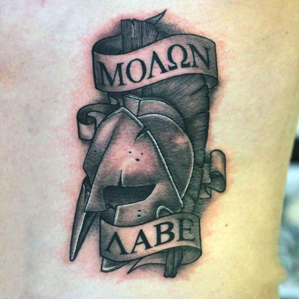 best 25 molon labe tattoo ideas on pinterest molon labe spartan tattoo and helmet tattoo. Black Bedroom Furniture Sets. Home Design Ideas