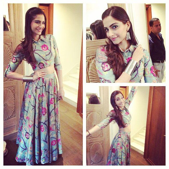 Bollywood style western dresses