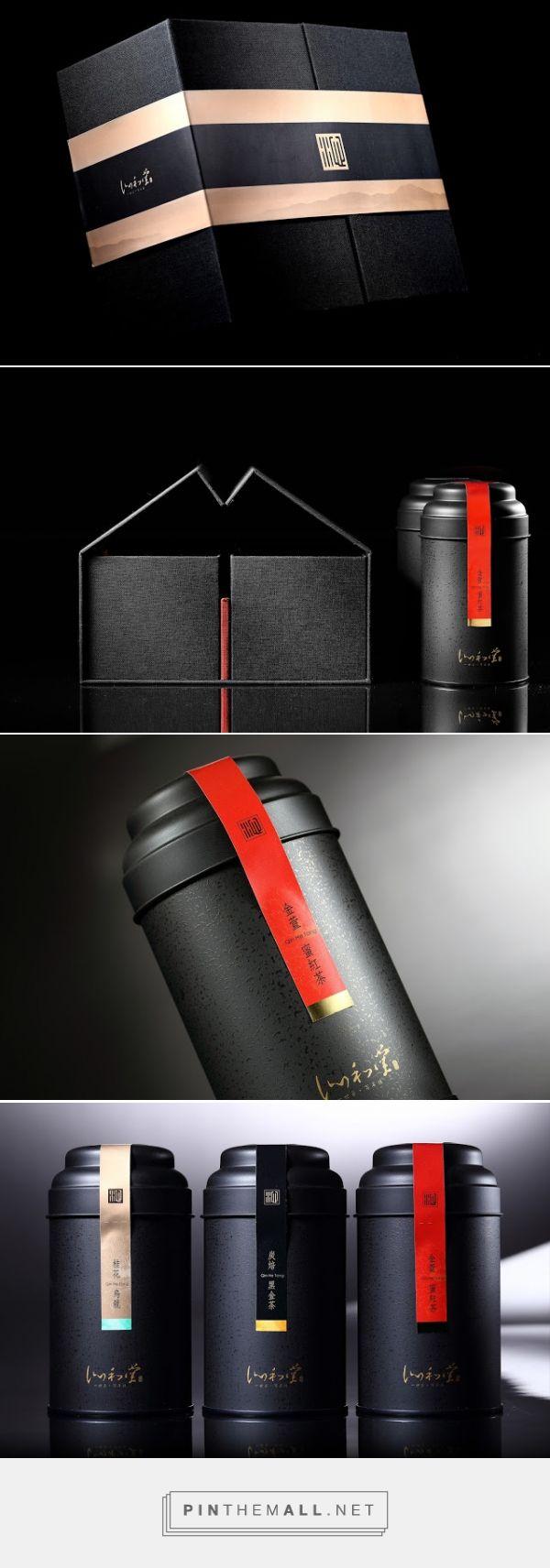 Qin Sheng Breeze Tea #packaging designed by 存在設計 a.design (Taiwan) - http://www.packagingoftheworld.com/2016/02/qin-sheng-breeze.html