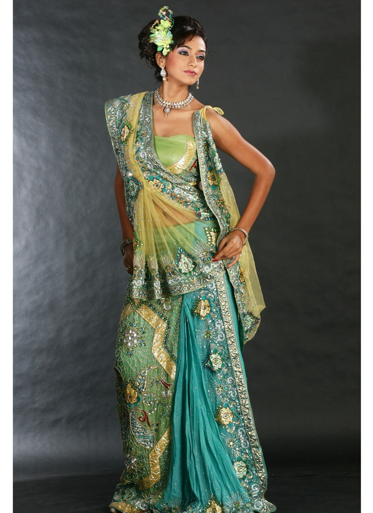 Sari--- Can I have one like this when I go to Sri Lanka?