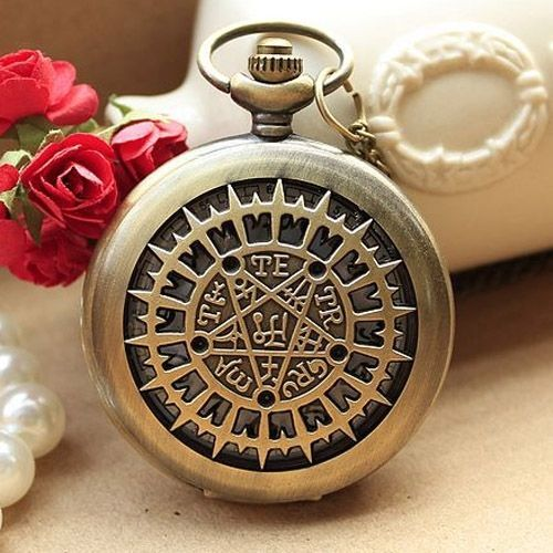 New Mini Mosaic Symbol Art Quartz Pocket Watch #Unbranded #fashion #pocketwatch