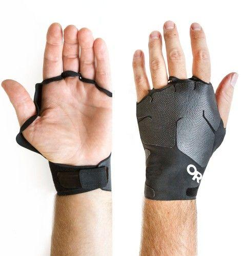 The Outdoor Research Splitter Crack Climbing Gloves  DESIGNED BY ADVENTURE: THE SPLITTER CRACK CLIMBING GLOVES