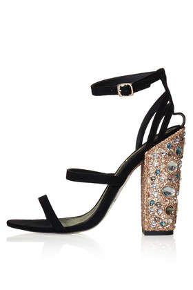 ROYALTY Jewelled Heels - Heels - Shoes