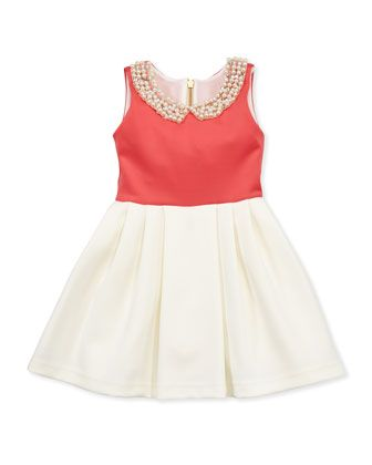 Ladies Who Lunch Colorblock Dress, Sizes 2-6 by Zoe at Neiman Marcus.