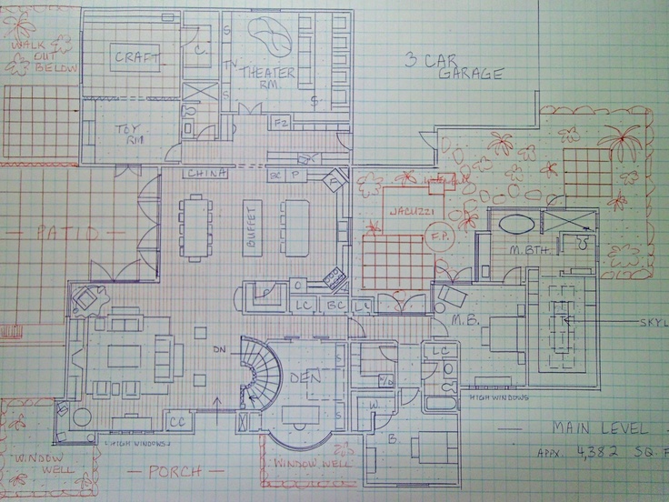 I Love Drawing House Plans This Is My Very Own Hand Drawn Plan DREAM