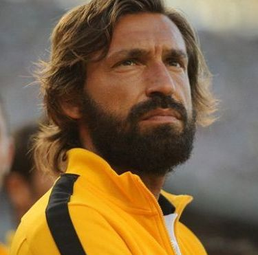 Andrea Pirlo's awesome beard!
