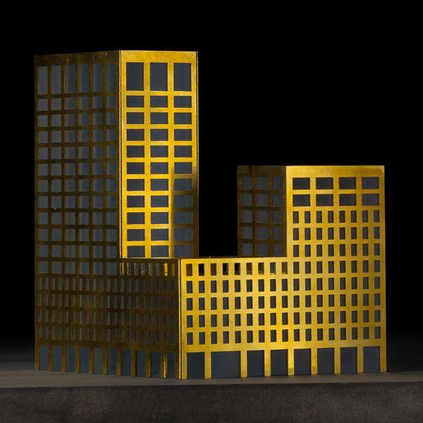 Scale1/500 #architecture #maquette #rotterdam #modelmaking #MBM #mlaplus
