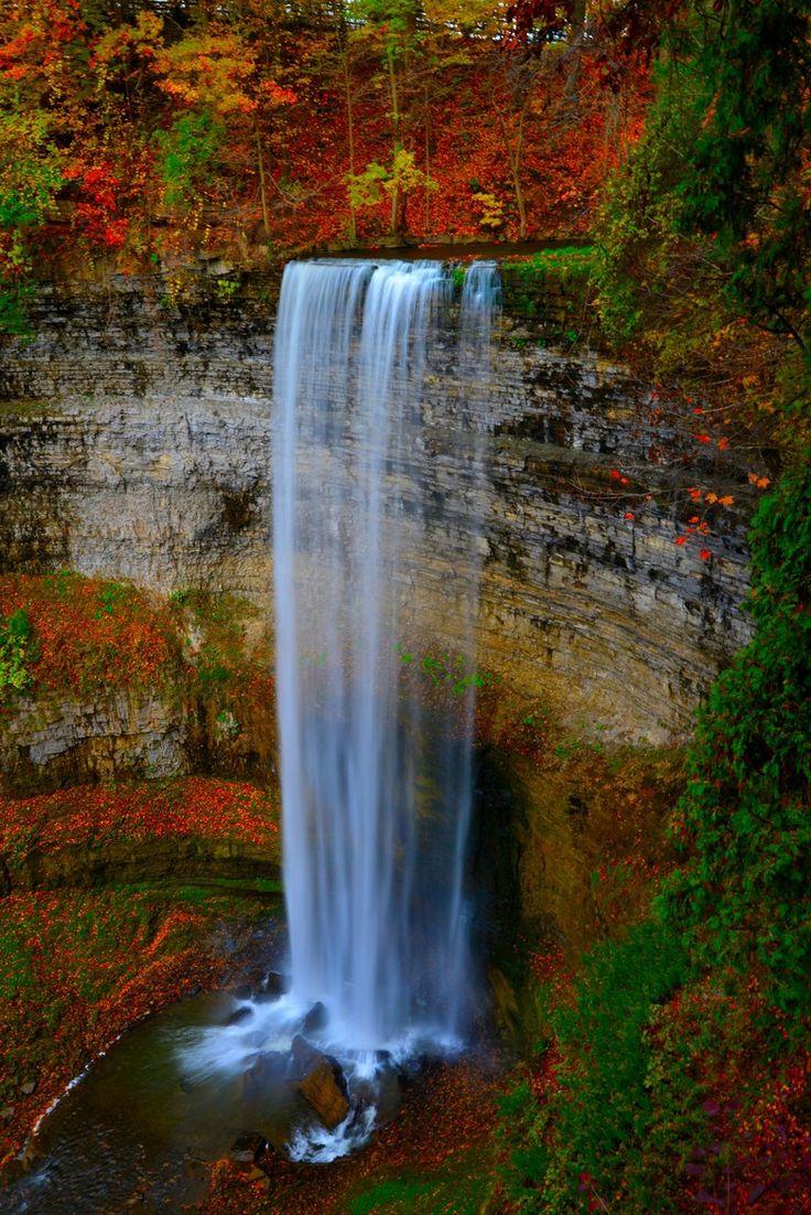 Autumn - Tew's Falls, Hamilton, Ontario, Canada