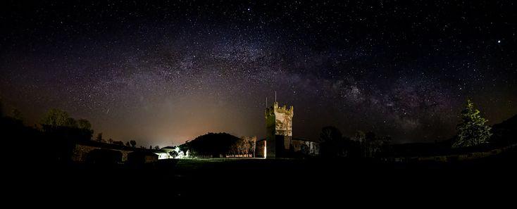 https://flic.kr/p/23yNKsh   Via Láctea sobre Torrepadierne   ¡No pidamos la Luna! ¡Tenemos las estrellas! Oliva Higgins Prouty.