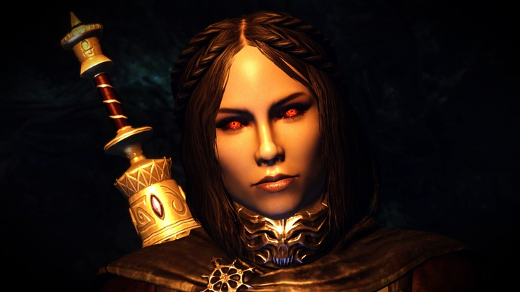 Serana from Skyrim. She is actually what I would call a good vampire.